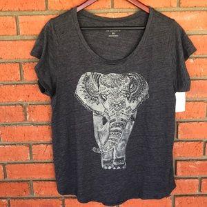 Lucky Brand Elephant T-shirt